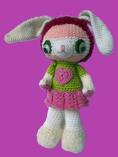 Basic Rabbit ~ Free Amigurumi Pattern ( also in PDF )  http://www.instructables.com/id/Basic-Amigurumi-Rabbit/?ALLSTEPS