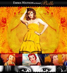★ Disney Live Action Dreamcast ★↳ Beauty & the Beast || Emma Watson as Belle