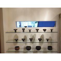 Nice exhibition by Ohnaka Kazunori at gallery Kenshin.