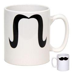 Mug moustache, cadeau original : en vente sur RueDuCommerce