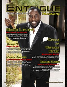 Eddie Levert Sr. in the December 2015 Issue of Entrigue Magazine