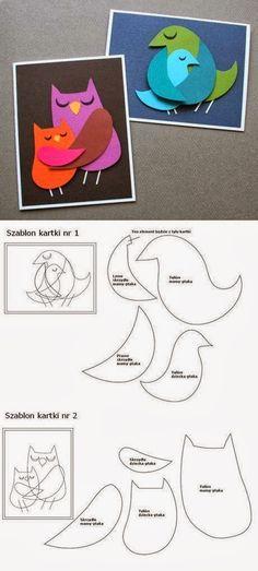 DIY : Bird Paper Art