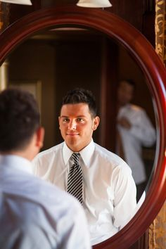 Grooms getting ready Gay wedding