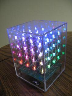 3d LED Cube - I love LEDs