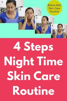 4 Steps Night Time Skin Care Routine Today I will share some very basic tips that you must follow to get flawless glowing skin always This skin care routine is suitable for all skin types Step 1 – Steaming First remove all make up from your face, wash it off and take steam on your face for 2-3 minutes Step 2 – … #BrownSpotsOnFace Face Skin Care, Diy Skin Care, Skin Care Tips, Castor Oil For Face, Organic Face Moisturizer, Face Care Routine, Face Health, Brown Spots On Face, Face Serum