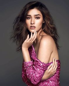 """3,250 Likes, 19 Comments - Perry Tabora (@perrytabora) on Instagram: """" @lizasoberano  @bellissimanailspaph campaign Photographed by: @bjpascual Make Up: @mickeysee…"""""""