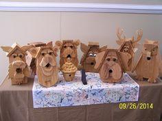 Dome Creations, Cedar wood bird houses at a craft show