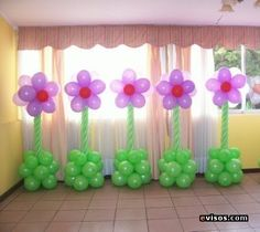 25 Modern Ideas for Interior Decorating with Air Balloons Balloon Centerpieces, Balloon Decorations, Birthday Decorations, Baby Shower Decorations, Birthday Balloons, Birthday Parties, Ballon Arrangement, Balloon Pillars, Balloon Crafts