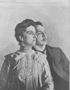Archduchess Luise, Princess of Tuscany (1870–1947) and he children's French tutor, André Giron with whom she eloped abandoning her husband and children while pregnant.