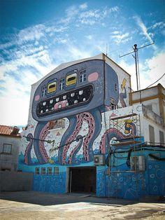 street art par mister thoms 5   Street Art par Mister Thoms   street art photo Mister Thoms image cartoon