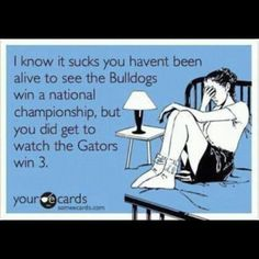 Go gators! Ready for some football