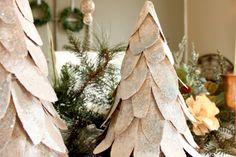 Craftberry Bush: Cardboard Christmas Tree tutorial...