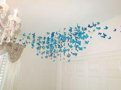 DIY butterfly corner