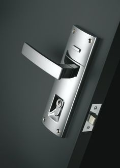 Gainsborough's Contemporary Angular Bright Chrome - Double Cylinder (Product Code: 8901ANGBC) features Australian Design Mark® awarded Trilock '3 in 1' locking technology, giving you deadbolt, privacy and passage functions combined into one lockset. Features a 60mm backset and a Single Cylinder Key operated deadbolt from either side.