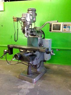 Ez-Trak-DX-Bridgeport-CNC-2-Axis-Vertical-Milling-Machine-2-HP-1996-DRO