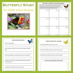 Hands-on Science: Raising Butterflies With Free Study Download