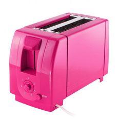 2 Slice Toaster - Fuchsia Color