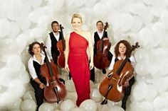 Claire Martin with The Montpellier Cello Quartet Thelonious Monk, Identical Twins, Jazz Music, Cello, Claire, Singer, Formal Dresses, Competition, British
