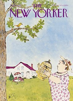 The New Yorker is.well it's the New Yorker. New Yorker. May In the trade since Currently all Salinger is sold out, but most Updike is still available. The New Yorker, New Yorker Covers, Vintage Illustration Art, Funny Illustration, Magazine Art, Magazine Covers, Flow Magazine, Fat Art, New Yorker Cartoons