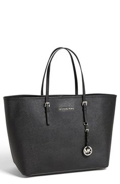 MICHAEL Michael Kors 'Jet Set - Medium' Travel Tote available at #Nordstrom - Great tote for laptop for day trips to client meetings.