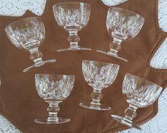 Waterford Crystal MAUREEN Liquor Cocktail Crystal Stemware Glasses Set of 6…