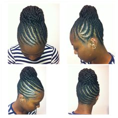 images of flat twist updos - Google Search