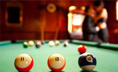 This idea is great if you have a Pool Table at your house. Shake things up a bit and play your spouse a game of pool all natural. Try not to get too distracted! And if one of you don't know how to play, wouldn't this be a great time to learn?