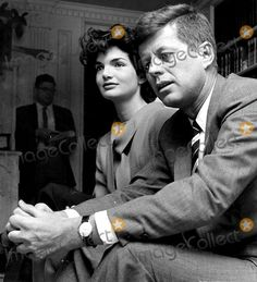 John F Kennedy and Jacqueline Kennedy Photo By:norman Dexler/Globe Photos, Inc