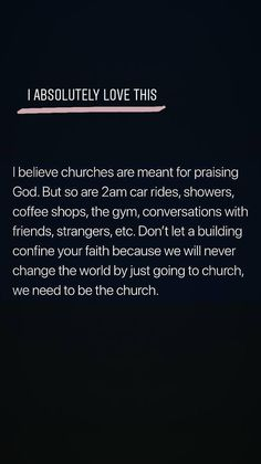 Where ever 2 or more gather in praise or in the good of my name and glory, will be called a church of God! Faith Quotes, Bible Quotes, Motivational Quotes, Inspirational Quotes, Qoutes, Strength Quotes, Uplifting Quotes, Poetry Quotes, Quotations