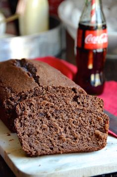Try this easy chocolate quick bread recipe made with coca-cola. Perfect for breakfast or as a snack!