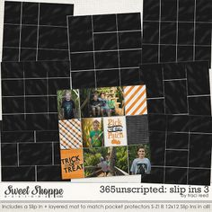 365Unscripted: Slip Ins 3 - traci reed design - The Pocket Source