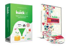 Kuicklist V2 Review, Bonus - Digital Interactive Lead Magnets App and List Building Mini-Course Email Marketing, Internet Marketing, Landing Page Builder, Lead Magnet, Mobile Responsive, Checklist Template, Email List, Wordpress Plugins, Make More Money
