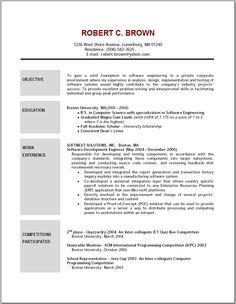 64 Best Resume Images On Pinterest Cover Letter For Resume Cv