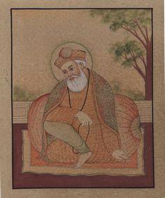 Sikh Painting Guru N