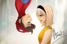 In honor of #Gwensday, check out this amazing #SpiderMan fan art and see more at http://theamazingspiderman.tumblr.com/