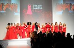 The Heart Truth Fashion Show Finale 2012.