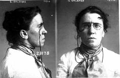 "Emma Goldman, U.S. anarchist, feminist, compelling advocate of free speech, the eight-hour work day, and birth control, was arrested in New York City on Feb. 11, 1916, just prior to giving another public lecture on family planning. She was charged with violating the Comstock Act, an 1873 statute banning transportation of ""obscene"" matter through the mails or across state lines. At the time, federal courts interpreted the statute as prohibiting distribution of contraception information."
