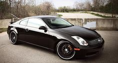 Infiniti G35 coupe...thats right...supercharged!