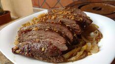 Picanha assada com manteiga de alho - fácil e deliciosa - Dom Manjericão