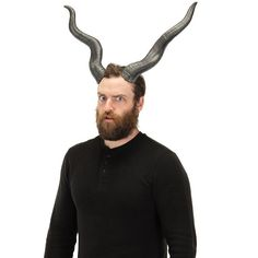Adult Antelope Costume Horns, Multicolor