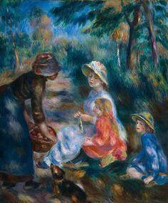 Renoir, Apple Seller 1890