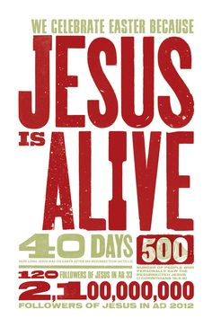 Flashback to Easter 2012 and some amazing statistics on what Jesus has done since coming to walk amongst us over 2000 years ago. My Church, Church Ideas, Mars Hill, Acts 1, Jesus Is Alive, Here Comes Peter Cottontail, Soli Deo Gloria, Thank You Jesus, Quotes About God