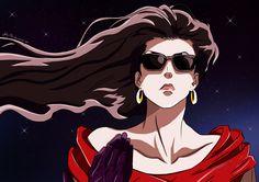 JoJo's Bizarre Adventure / Battle Tendency / Lisa Lisa / Sunglasses / Long Hair