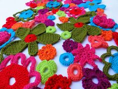 #Crochet inspiration. I could look at this blog all day :)