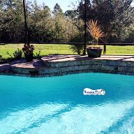 Superior Pools Swimming Pool With 12 inch Raised Waterfall