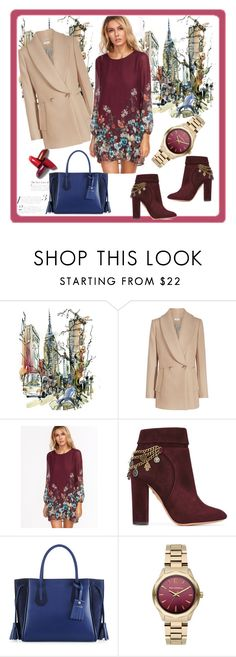 """Fashion-8"" by edima-edic ❤ liked on Polyvore featuring Aquazzura, Longchamp and Karl Lagerfeld"