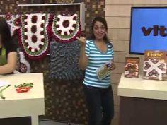 Programa Arte Brasil   Tapete de Flores   Maria José