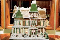 Gingerbread Mansion - GoodHousekeeping.com