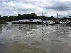 Boats Unlimited, Airline Hwy, Baton Rouge, Louisiana Great Flood Aug 15, 2016
