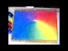Wet on Wet Painting The Rainbow Experience by Sharon D Clifford Watercolour Tutorials, Watercolour Painting, Wet On Wet Painting, Rainbow Room, Acrylic Art, Art Lessons, Art For Kids, Colours, School
